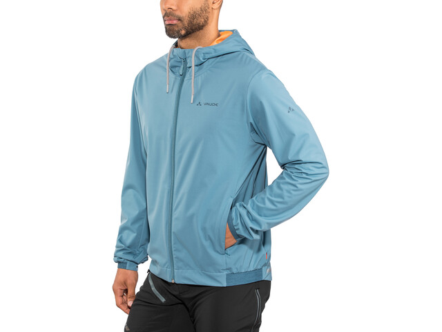 VAUDE Cyclist Veste Softshell Homme, blue gray